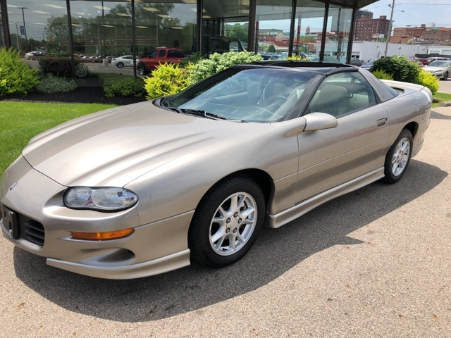 Pre-Owned 2002 Chevrolet Camaro Base
